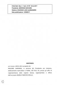 """LE SEZIONI UNITE DELLA CORTE DI CASSAZIONE HANNO MESSO LA DEFINITIVA PIETRA TOMBALE SULL'ECOMOSTRO DELLA """"BIOPOWER"""" DI PIGNATARO MAGGIORE – PUBBLICHIAMO IL TESTO INTEGRALE DELLA SENTENZA CIVILE: """"CESSAZIONE DELLA MATERIA DEL CONTENDERE"""""""